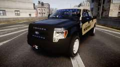 Ford F150 Liberty County Sheriff [ELS] Slicktop para GTA 4