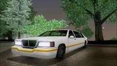 Elegant Limousine para GTA San Andreas