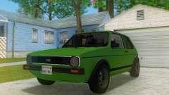 Volkswagen Golf GTD Mk1 para GTA San Andreas