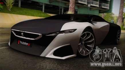 Peugeot Onyx para GTA San Andreas