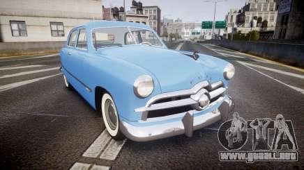 Ford Custom Fordor 1949 v2.1 para GTA 4