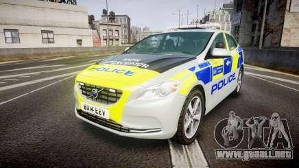 Volvo V40 Metropolitan Police [ELS] para GTA 4
