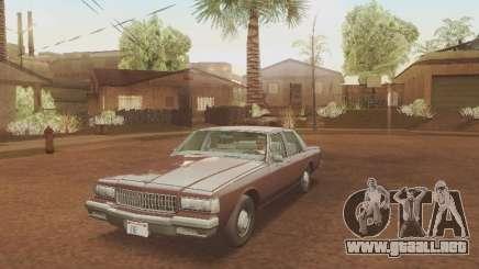Chevrolet Caprice 1987 para GTA San Andreas