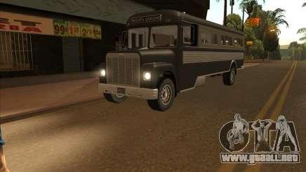 Autobús из GTA 3 para GTA San Andreas