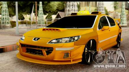 Peugeot 407 Sport Taxi para GTA San Andreas
