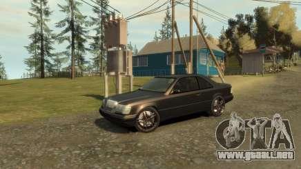 Mercedes-Benz C124 para GTA 4