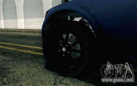 GTA 5 Cheval Fugitive HQLM para GTA San Andreas vista posterior izquierda