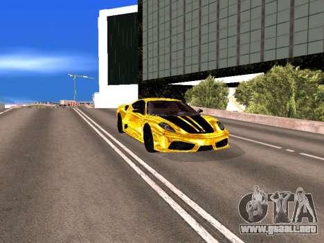 Ferrari F430 para la vista superior GTA San Andreas