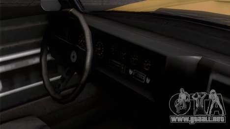 GTA 5 Invetero Coquette Classic HT IVF para la visión correcta GTA San Andreas