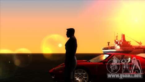 ENBSeries para PC débil v5 para GTA San Andreas quinta pantalla
