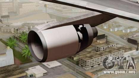 Lookheed L-1011 United Als para la visión correcta GTA San Andreas