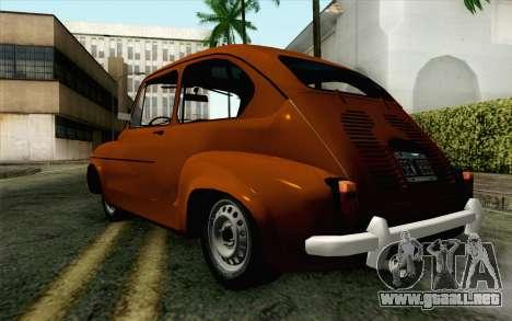 Fiat 600 para GTA San Andreas left