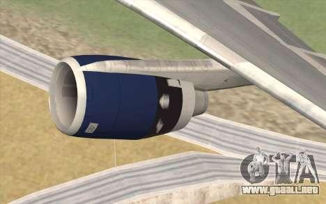 Lookheed L-1011 British Airways para la visión correcta GTA San Andreas