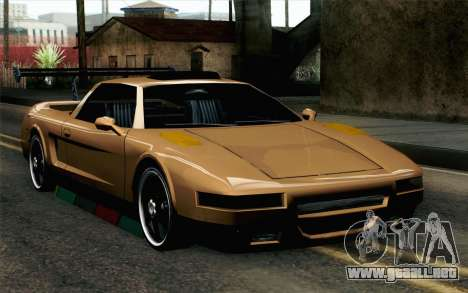 Infernus Edicte v2 para GTA San Andreas