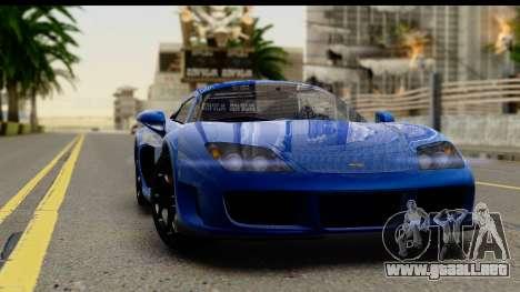 Noble M600 2010 FIV АПП para visión interna GTA San Andreas