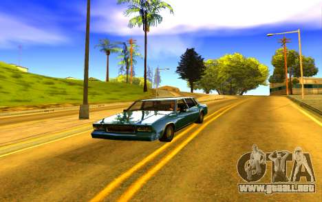 Colorful ENBSeries para GTA San Andreas tercera pantalla