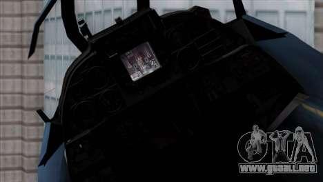 F-14 Japan Air Self Defense Force para la visión correcta GTA San Andreas