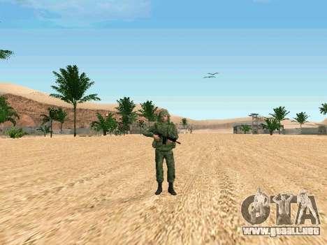 El ejército ruso está en una nueva forma para GTA San Andreas tercera pantalla