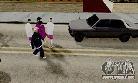 ENB para PC de bajos para GTA San Andreas tercera pantalla