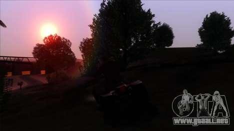 PhotoRealistic 2.0 Low settings para GTA San Andreas quinta pantalla
