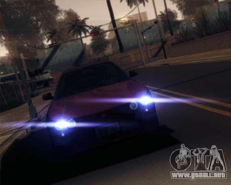 iNFINITY ENB para GTA San Andreas sexta pantalla