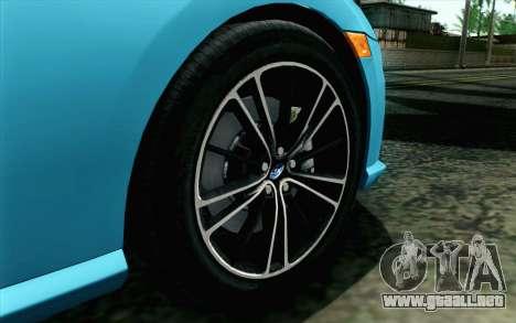 Subaru BRZ 2012 para GTA San Andreas vista posterior izquierda