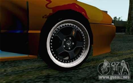 Nights Elegy para GTA San Andreas vista posterior izquierda