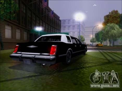 New Virgo para la visión correcta GTA San Andreas