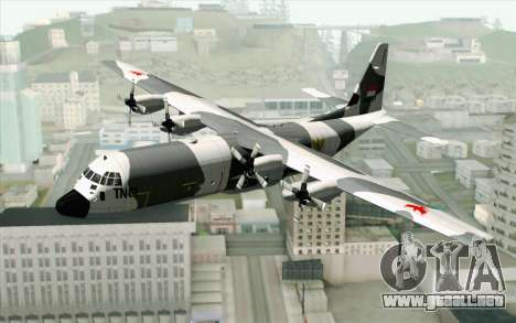Lockheed C-130 Hercules Indonesian Air Force para GTA San Andreas