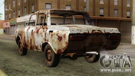 Russian Rustic Moskvitch para GTA San Andreas left
