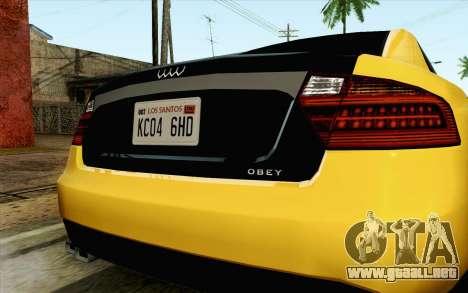 GTA 5 Karin Kuruma v2 IVF para la visión correcta GTA San Andreas