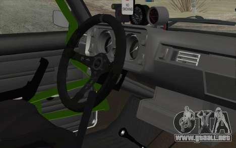 VAZ 2105 Drist-Enganches para la visión correcta GTA San Andreas