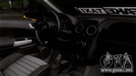 Opel Corsa OPC para la visión correcta GTA San Andreas
