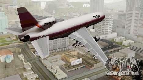 Lookheed L-1011 PSA para GTA San Andreas left