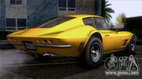 GTA 5 Invetero Coquette Classic HT IVF para GTA San Andreas left