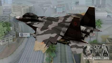 F-15E Yellow Squadron para GTA San Andreas left