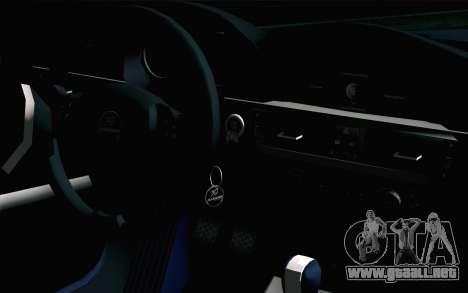 BMW M3 E90 Hamann para la visión correcta GTA San Andreas