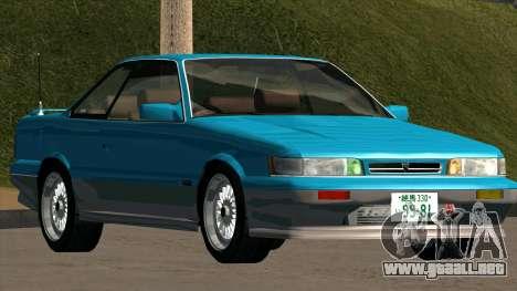 Nissan Leopard (F31) para la visión correcta GTA San Andreas