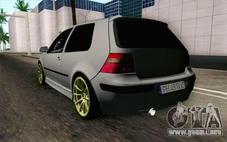 Volkswagen Golf Mk4 2002 Street Daily para GTA San Andreas left