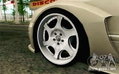 Mercedes-Benz CLK DTM 2004 para GTA San Andreas vista posterior izquierda