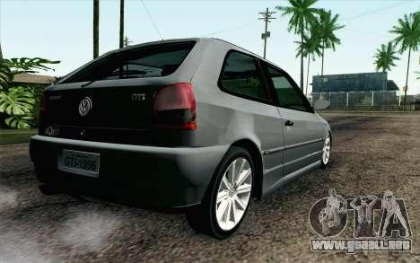 Volkswagen Golf GL para GTA San Andreas left
