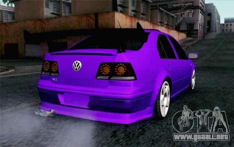 Volkswagen Jetta GLI 2010 TnTuning para GTA San Andreas left
