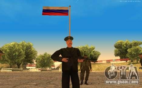 El coronel del ejército ruso para GTA San Andreas segunda pantalla