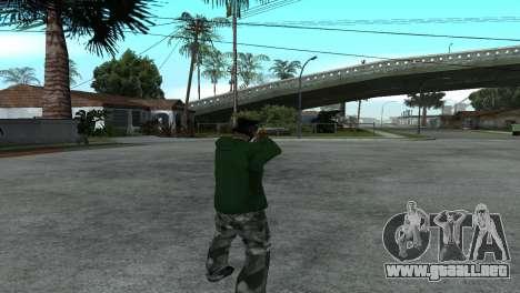 Gold Desert Eagle para GTA San Andreas tercera pantalla
