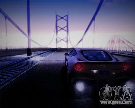 iNFINITY ENB para GTA San Andreas quinta pantalla