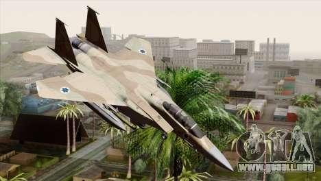F-15E Strike Eagle Israeli Air Force para GTA San Andreas
