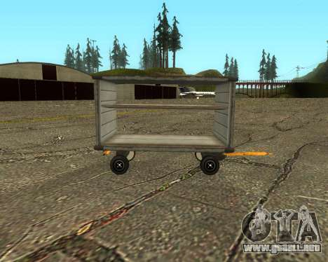 New Bagbox A para GTA San Andreas left