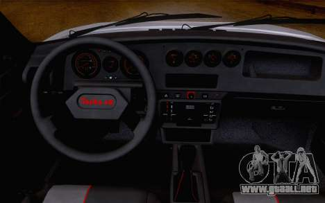 Peugeot 205 Turbo 16 1984 [IVF] para GTA San Andreas vista posterior izquierda