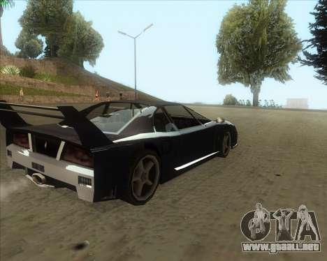 ENB Series New HD para GTA San Andreas tercera pantalla