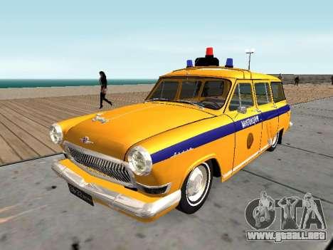 GAS 22 de la unión Soviética de la policía para GTA San Andreas